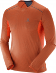 TRAIL RUNNER LS TEE M Vivid Orange/BL