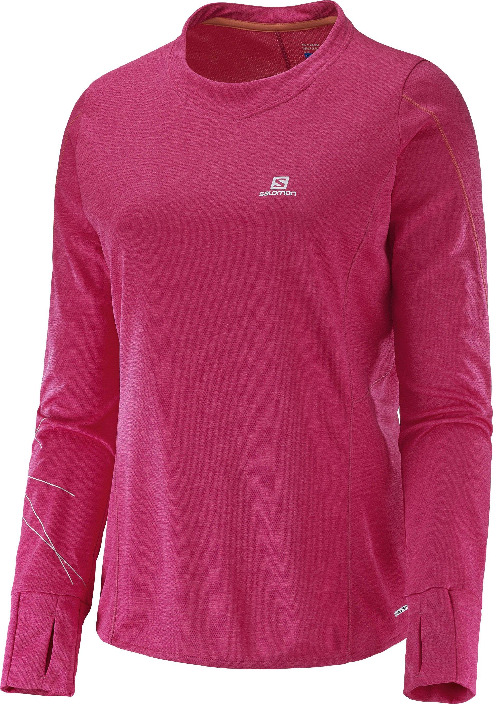 běžecké tričko s dlouhým rukávem Salomon Park
