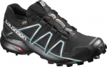 Trailové boty Salomon SPEEDCROSS 4 GTX® W BLACK/BK/Metallic B