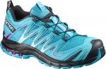 Trailové boty Salomon XA PRO 3D W Blue Jay/BLACK/Deep Dalhia