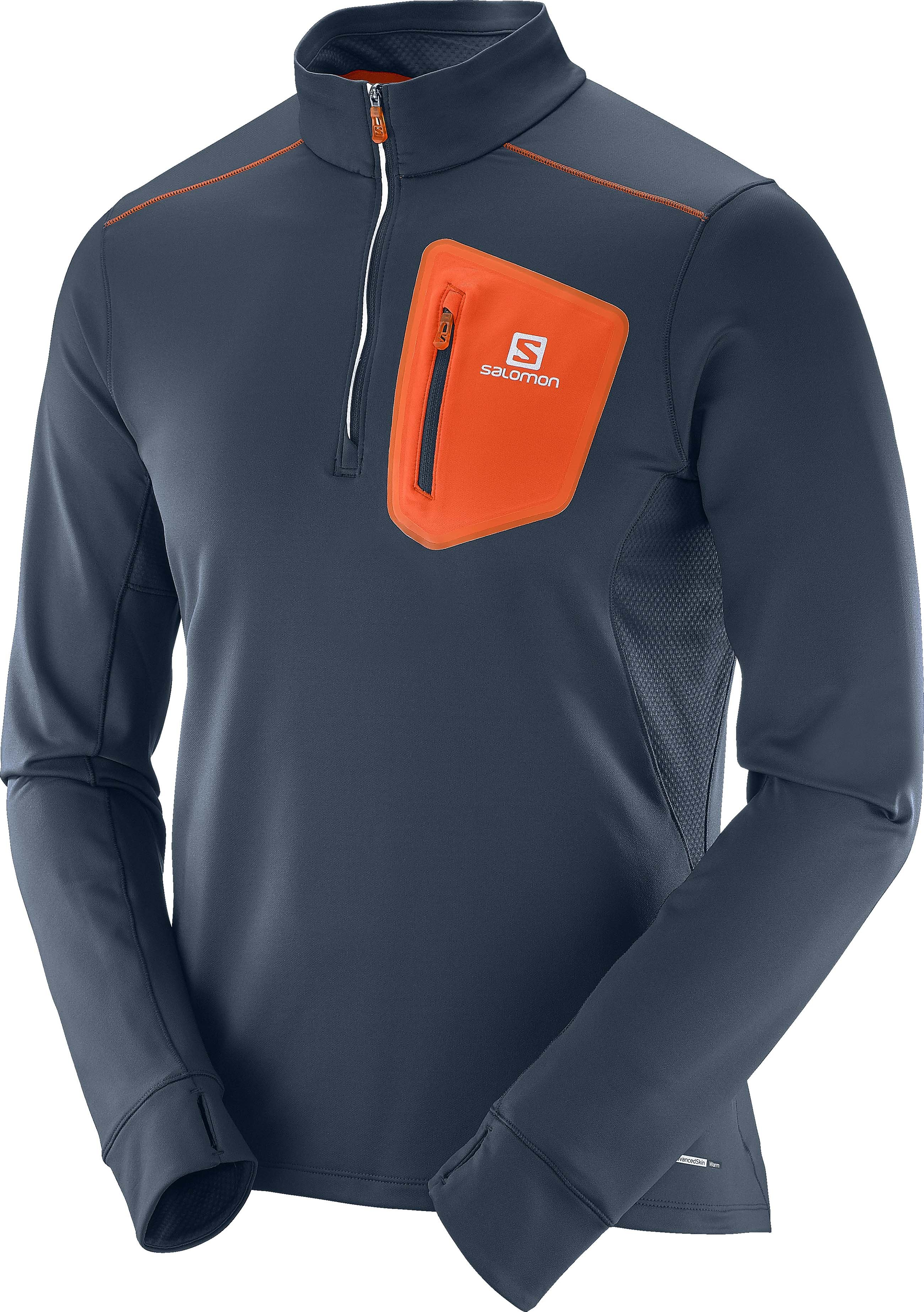 Běžecké triko s dlouhým rukávem Salomon Trail Runner Warm