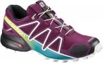 Trailové boty Salomon SPEEDCROSS 4 W Darkpurpl/Wh/Deep La