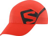 XA CAP FIERY RED/Black