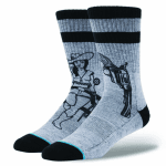 STANCE BUSH LEAGUE GREY
