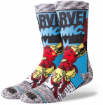 STANCE IRON MAN COMIC GREY