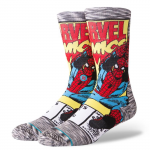 STANCE SPIDERMAN COMIC GREY