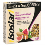 Isostar Fruit & Nut Energy – fíky, mandle, spirulina, 3x40g