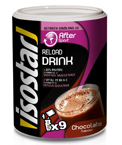 Regenerační nápoj Isostar čokoláda 450g