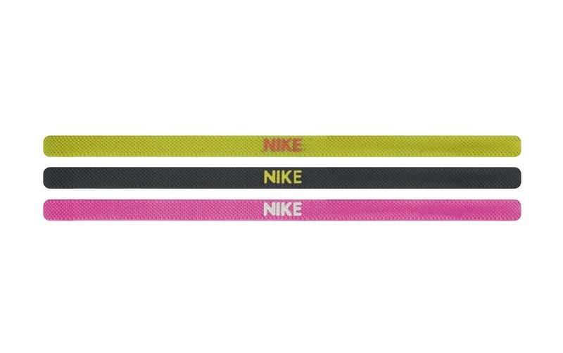 Cinta para el pelo Nike Elastic Hairbands 3PK
