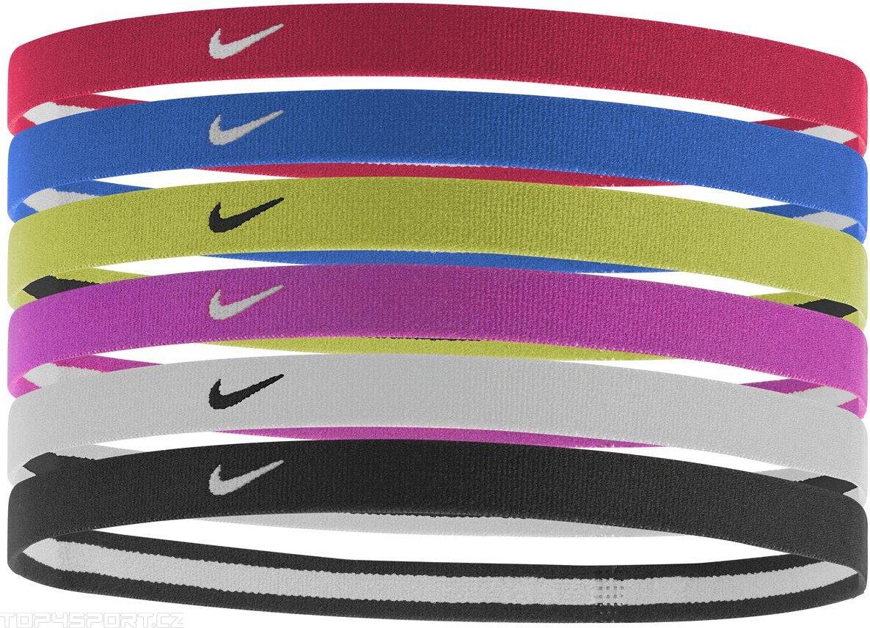 Čelenky Nike SwooshSportHeadbands6PK 2.0