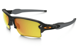OAKLEY Flak 2.0 XL Polished Black w/Fire Iridium