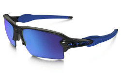 OAKLEY Flak 2.0 XL Polished Black w/Sapphire Iridium