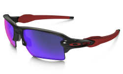 OAKLEY Flak 2.0 XL Polished Black w/+ Red Iridium