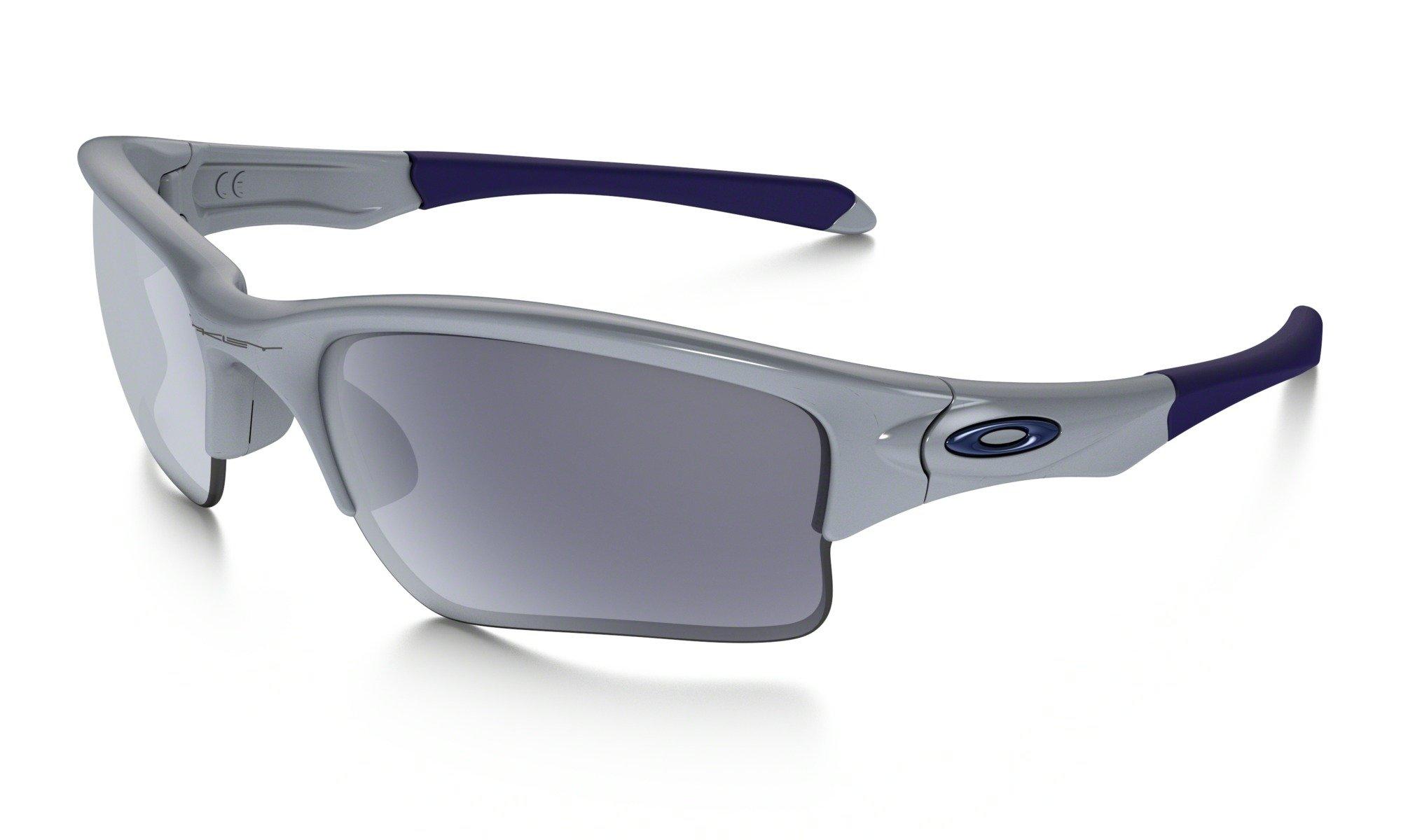 Sluneční brýle Oakley Quarter Jacket Polished Fog w/ Grey