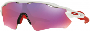 OAKLEY Radar EV Path Pol White w/ Prizm Road