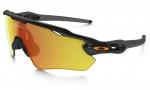 Sluneční brýle Oakley OAKLEY Radar EV Polished Black w/Fire Iridium