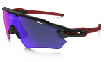 Sluneční brýle Oakley OAKLEY Radar EV Polished Black w/Positive Red