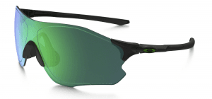 EVZero Path Polished Black/Jade Iridium Polarized