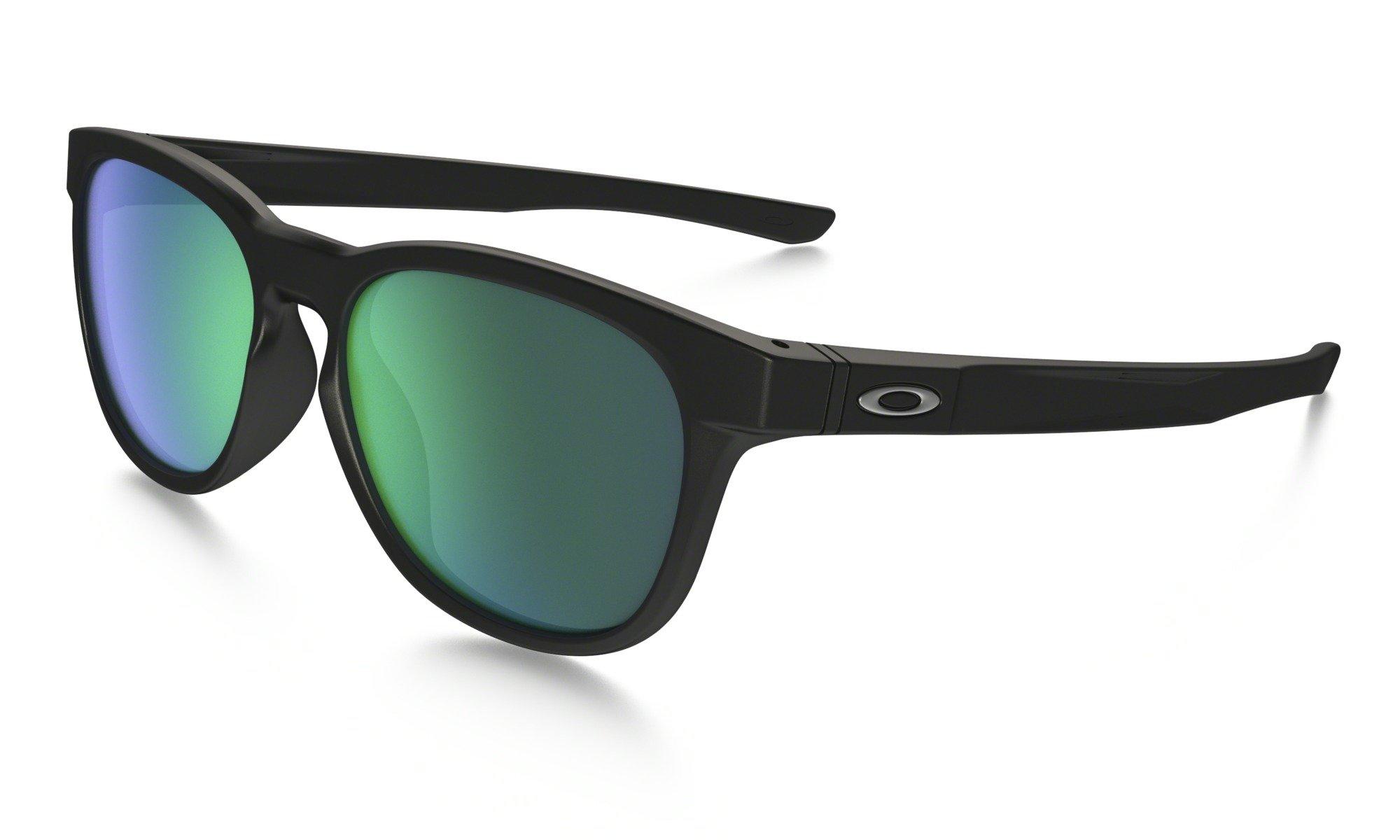 Sluneční brýle Oakley OAKLEY Stringer MateBlk w/ Jade Irid