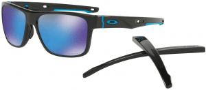 Sluneční brýle Oakley OAKLEY Crossrange Pol Blk w/PRIZM Sapph