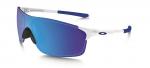 Sluneční brýle Oakley EVZero Pitch Pol White w/ Sapph Irid