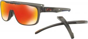 Sluneční brýle Oakley OAKLEY Crossrange Shield MttGySMK w/PRIZM Ruby