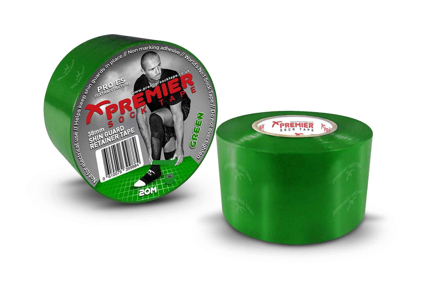 Tejpovací páska Premier Sock Tape SHIN GUARD RETAINER TAPE PRO ES 38mm
