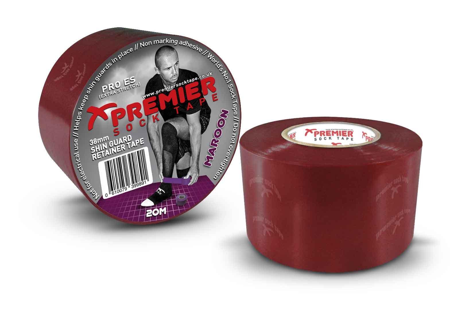 Tejpovací páska Premier Sock Tape SHIN GUARD RETAINER TAPE PRO ES 38mm