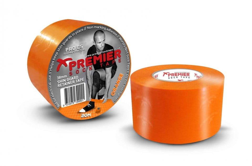 Banda Premier Sock Tape SHIN GUARD RETAINER TAPE PRO ES 38mm