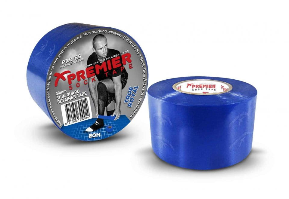 Banda Premier Sock Tape SHIN GUARD RETAINER TAPE PRO ES 38mm