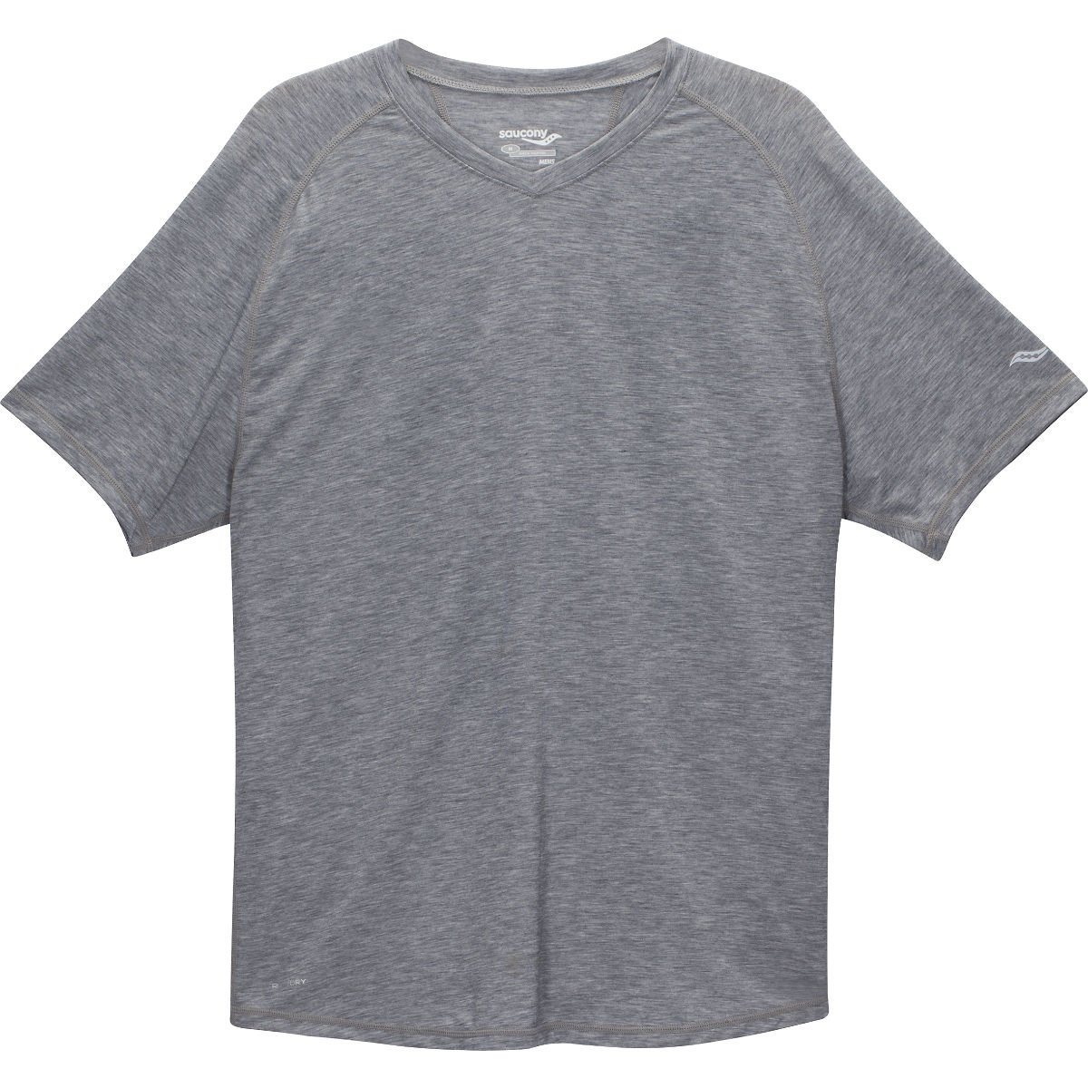 Triko Saucony SAUCONY Freedom v neck/dark grey…
