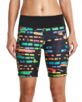 "SAUCONY SCOOT TIGHT SHORT 8"" BLACK/MULT"