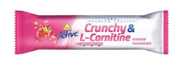 Tyčinka X-TREME ACTIVE CRUNCHY L-CARNITIN MALINA 35 G