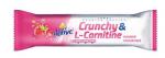 Tyčinka Inkospor X-TREME ACTIVE TYČINKA CRUNCHY L-CARNITIN MALINA 35 G