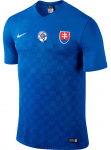 Slovakia Authentic Away Football Jersey 2016/2017