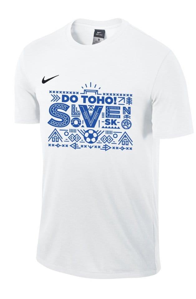 Pánské triko s krátkým rukávem Nike reprezentace Slovenska