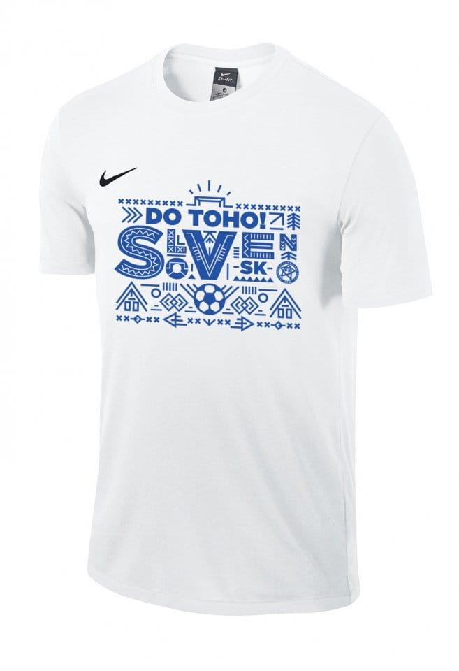 Dětské triko s krátkým rukávem Nike reprezentace Slovenska