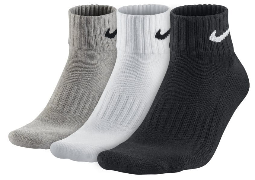 Calcetines Nike 3PPK VALUE COTTON QUARTER S,M