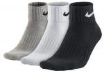 Ponožky Nike 3PPK VALUE COTTON QUARTER S,M