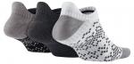 Ponožky Nike Dri-FIT Graphic No-Show Tab 3páry – 2