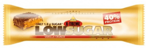 INKOSPOR X-TREME tyčinka low sugar vanilka crunch 65g