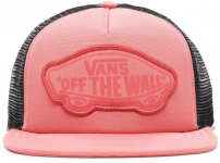 WM BEACH GIRL TRUCKER HAT DESERT ROSE