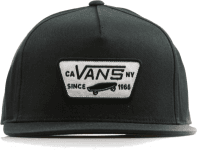 MN FULL PATCH SNAPBACK True Black