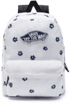 WM REALM BACKPACK WHITE ABSTRACT DAISY