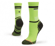 STANCE SPACED OUT NEON GREEN S
