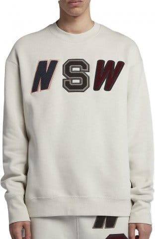crew fleece sweatshirt