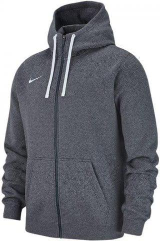 Hooded sweatshirt Nike M HOODIE FZ FLC TM CLUB19