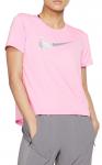 Tricou Nike W NK MILER TOP SS HBR1