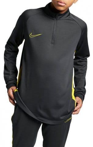 Dětské fotbalové tričko se čtvritnovým zipem Nike Dry