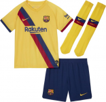 FC Barcelona set 2019/20 Away little kids